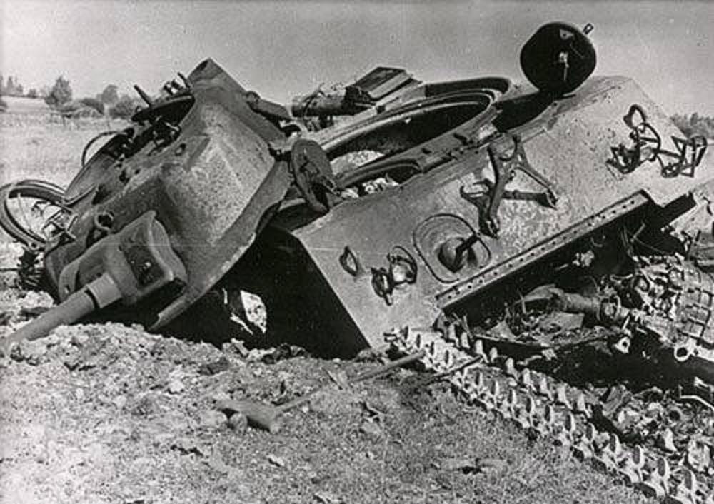 Советские танки т-34-76 из состава 3-го гв